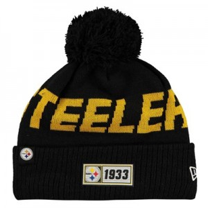 Pittsburgh Steelers New Era 2019 Official Cold Weather Road Knit
