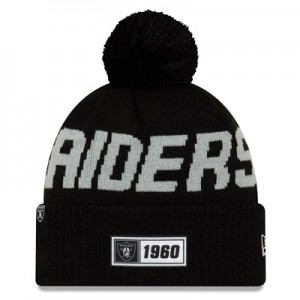 Oakland Raiders New Era 2019 Official Cold Weather Road Knit