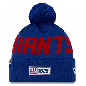 New York Giants New Era 2019 Official Cold Weather Road Knit