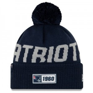 New England Patriots New Era 2019 Official Cold Weather Road Knit