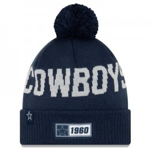 Dallas Cowboys New Era 2019 Official Cold Weather Road Knit