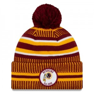 Washington Redskins New Era 2019 Official Cold Weather Home Knit