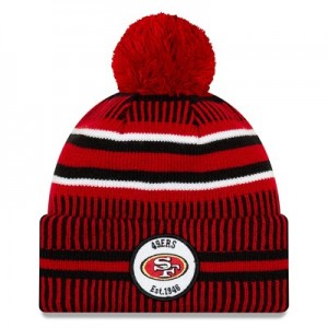 San Francisco 49ers New Era 2019 Official Cold Weather Home Knit