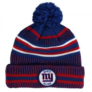 New York Giants New Era 2019 Official Cold Weather Home Knit