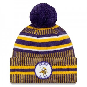 Minnesota Vikings New Era 2019 Official Cold Weather Home Knit