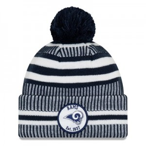 Los Angeles Rams New Era 2019 Official Cold Weather Home Knit