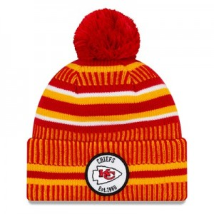 Kansas City Chiefs New Era 2019 Official Cold Weather Home Knit