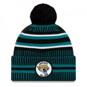 Jacksonville Jaguars New Era 2019 Official Cold Weather Home Knit