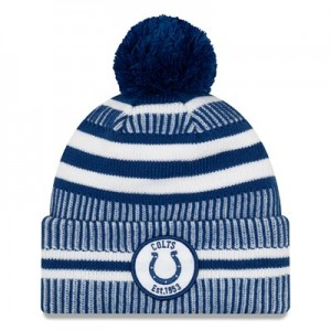 Indianapolis Colts New Era 2019 Official Cold Weather Home Knit