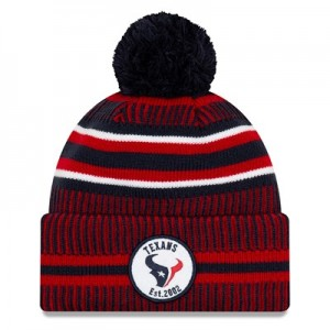 Houston Texans New Era 2019 Official Cold Weather Home Knit
