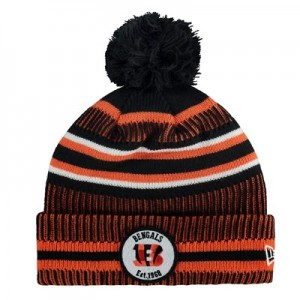 Cincinnati Bengals New Era 2019 Official Cold Weather Home Knit