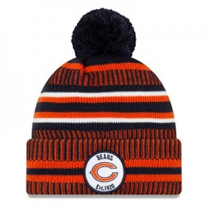 Chicago Bears New Era 2019 Official Cold Weather Home Knit