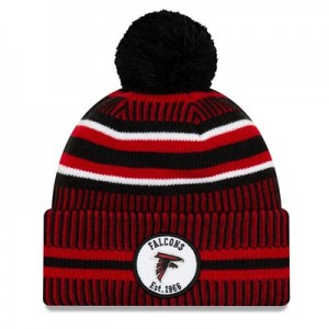 Atlanta Falcons New Era 2019 Official Cold Weather Home Knit