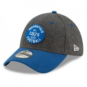 Indianapolis Colts New Era 2019 Official Home Sideline 1933-53 39THIRTY Stretch Fit Cap
