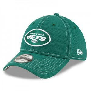 New York Jets New Era 2019 Official Road Sideline 39THIRTY Stretch Fit Cap