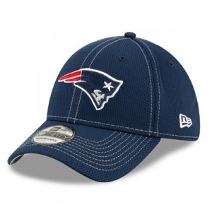 New England Patriots New Era 2019 Official Road Sideline 39THIRTY Stretch Fit Cap