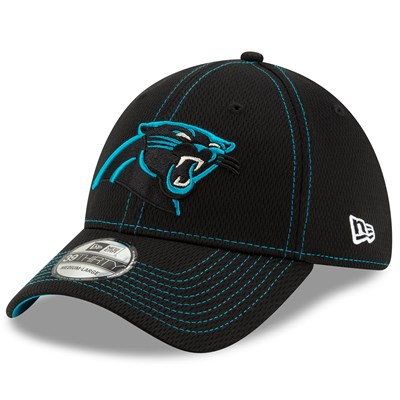 Carolina Panthers New Era 2019 Official Road Sideline 39THIRTY Stretch Fit Cap