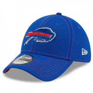 Buffalo Bills New Era 2019 Official Road Sideline 39THIRTY Stretch Fit Cap