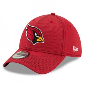 Arizona Cardinals New Era 2019 Official Road Sideline 39THIRTY Stretch Fit Cap