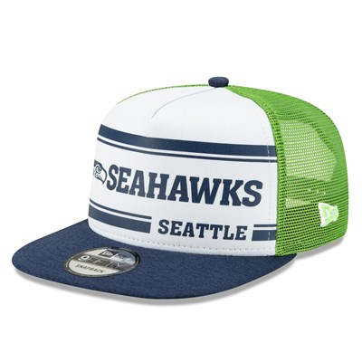Seattle Seahawks New Era 2019 Official Home Sideline 1966-76 9FIFTY Snapback Cap