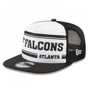 Atlanta Falcons New Era 2019 Official Home Sideline 1966-76 9FIFTY Snapback Cap