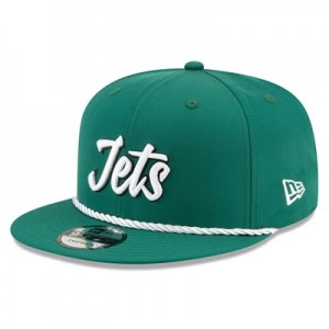 New York Jets New Era 2019 Official Home Sideline 1960-61 9FIFTY Snapback Cap
