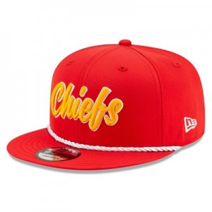 Kansas City Chiefs New Era 2019 Official Home Sideline 1960-61 9FIFTY Snapback Cap