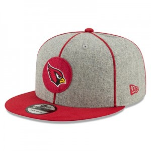 Arizona Cardinals New Era 2019 Official Home Sideline 1920-25 9FIFTY Snapback Cap
