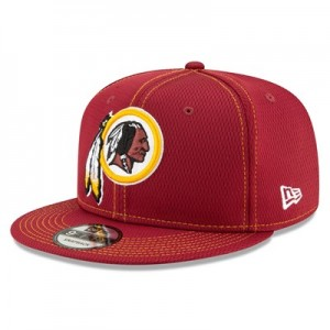 Washington Redskins New Era 2019 Official Road Sideline 9FIFTY Snapback Cap