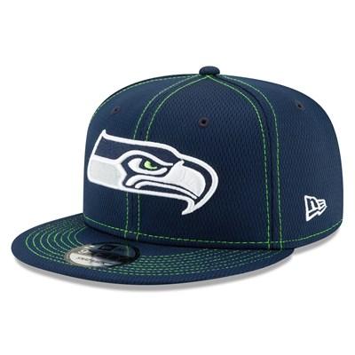 Seattle Seahawks New Era 2019 Official Road Sideline 9FIFTY Snapback Cap