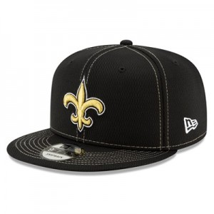New Orleans Saints New Era 2019 Official Road Sideline 9FIFTY Snapback Cap
