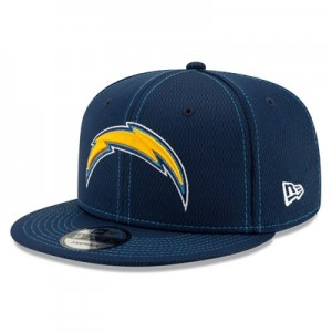 Los Angeles Chargers New Era 2019 Official Road Sideline 9FIFTY Snapback Cap