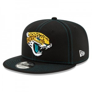 Jacksonville Jaguars New Era 2019 Official Road Sideline 9FIFTY Snapback Cap