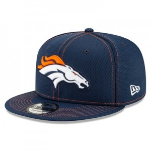 Denver Broncos New Era 2019 Official Road Sideline 9FIFTY Snapback Cap