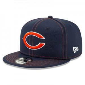 Chicago Bears New Era 2019 Official Road Sideline 9FIFTY Snapback Cap