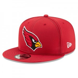 Arizona Cardinals New Era 2019 Official Road Sideline 9FIFTY Snapback Cap