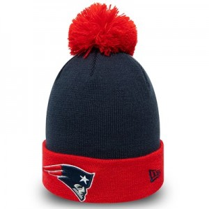New England Patriots New Era Pop Bobble Knit