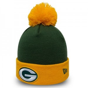 Green Bay Packers New Era Pop Bobble Knit