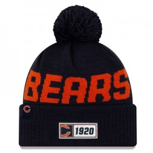 Chicago Bears New Era 2019 Official Cold Weather Road Knit