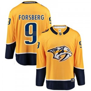 Nashville Predators Home Breakaway Jersey - Filip Forsberg - Mens