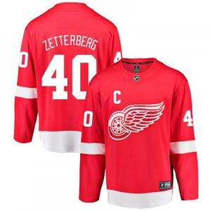 Detroit Red Wings Home Breakaway Jersey - Henrik Zetterberg - Mens