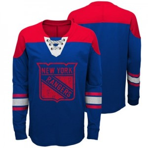 New York Rangers Perennial Long Sleeve Crew - Kids