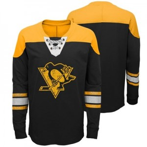 Pittsburgh Penguins Perennial Long Sleeve Crew - Kids