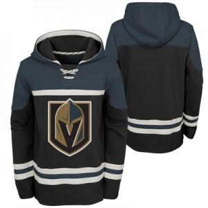 Vegas Golden Knights Asset Pullover Hockey Hoodie - Kids