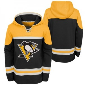 Pittsburgh Penguins Asset Pullover Hockey Hoodie - Kids