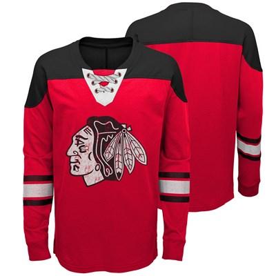 Chicago Blackhawks Perennial Long Sleeve Crew - Youth