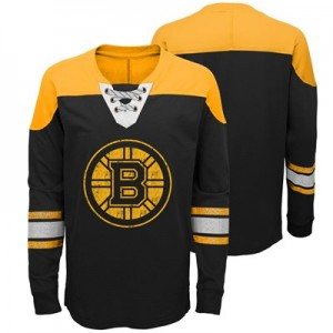 Boston Bruins Perennial Long Sleeve Crew - Youth