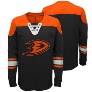 Anaheim Ducks Perennial Long Sleeve Crew - Youth