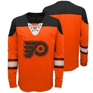 Philadelphia Flyers Perennial Long Sleeve Crew - Youth