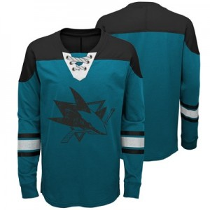 San Jose Sharks Perennial Long Sleeve Crew - Youth